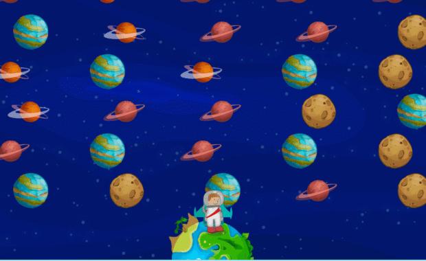 Exercice conquête spatiale pour travailler l'attention