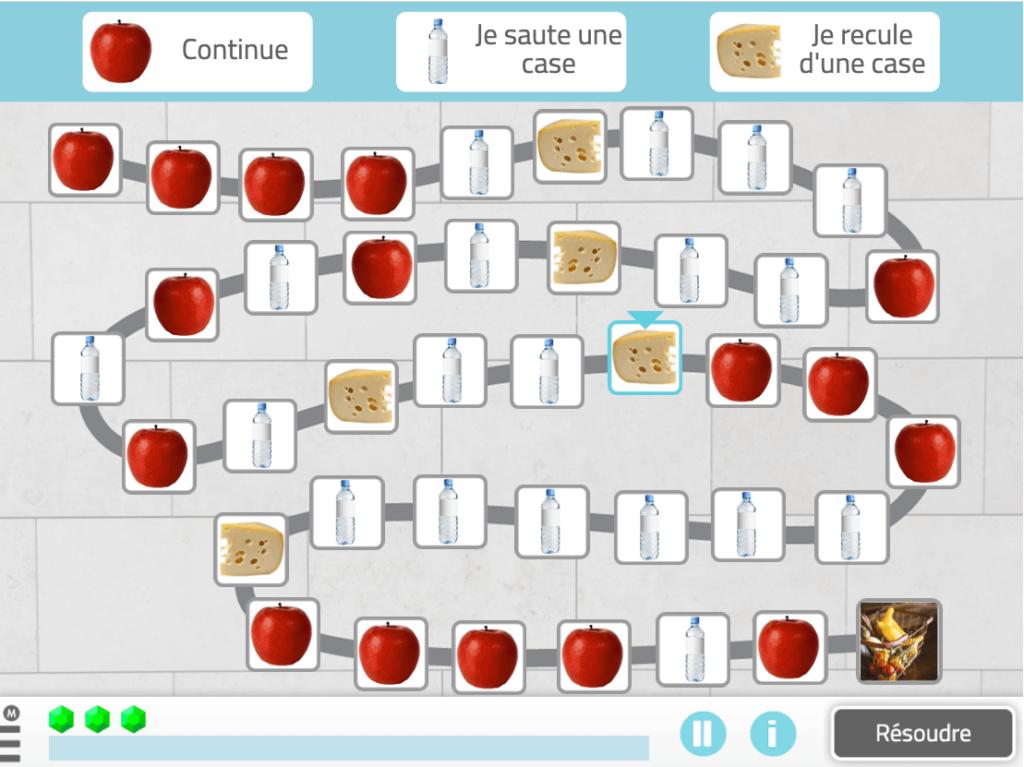 hôpital-monte-sinai-enquête-avec-neuronup-séquelles-cognitives-covid activité NeuronUP, déplacement selon des normes.