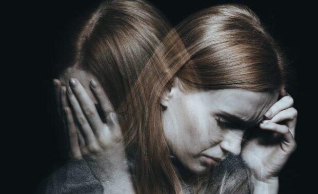 Personne atteinte de schizophrénie