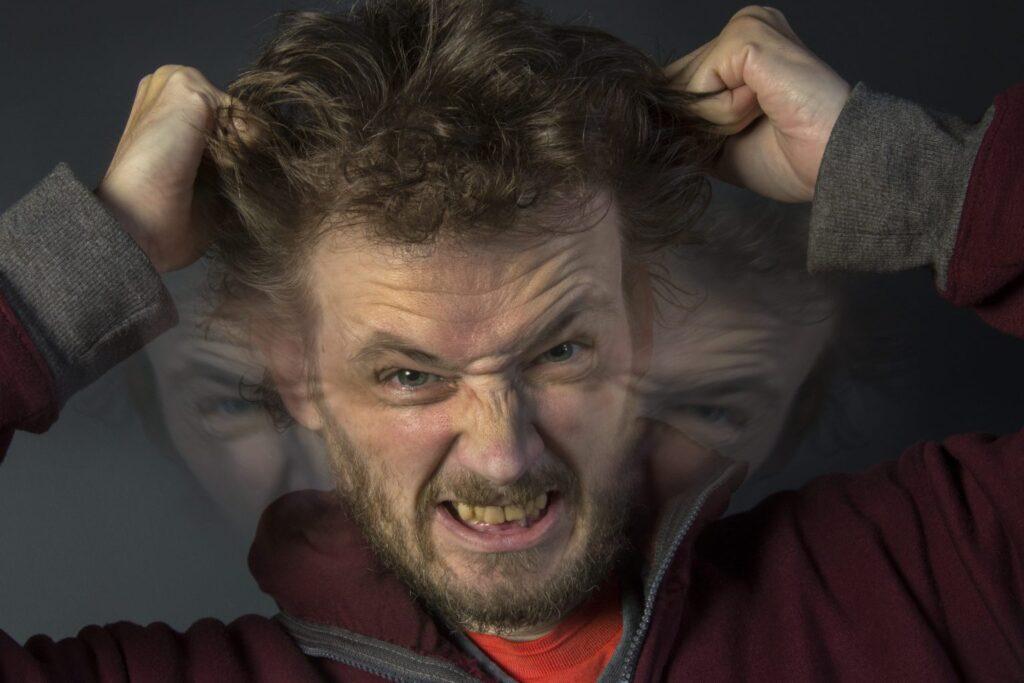 Personne souffrant de schizophrénie