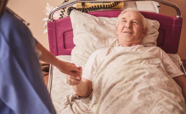 patient après un AVC